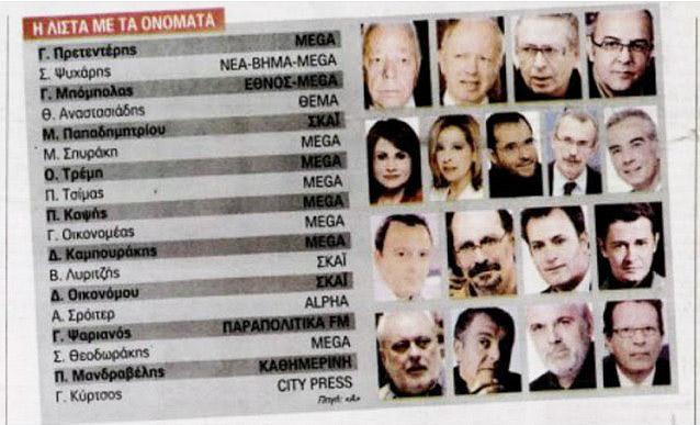 Λιστα Δημοσιογράφων2