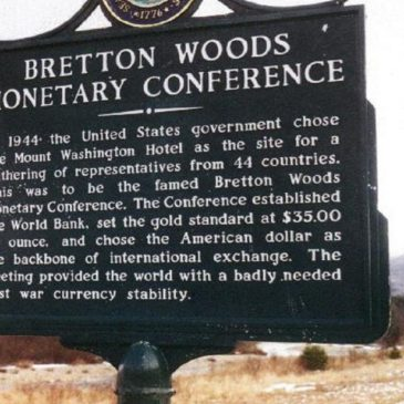 Η διάσκεψη του Βretton Woods το 1944, και το Φ.Ε.Κ. 315…Υπάρχει σε ισχύ Ελληνικό καταπίστευμα ?… (Video)