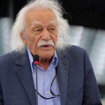 Η συγκλονιστική δήλωση Μ.Γλέζου στο Ευρωκοινοβούλιο στα Αρχαία Ελληνικά και στα Λατινικά. (Video)